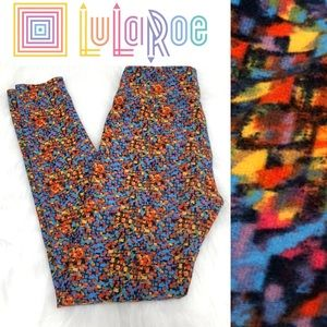 Lularoe colorful stretchy leggings
